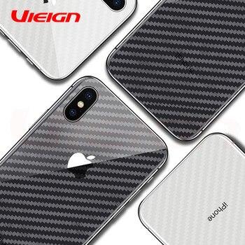 Vieign мобильного телефона Плёнки для IPhone X взрывозащищенного Назад Мягкая Плёнки для iPhone 6 6S 7 8 плюс X 10 (не Экран протектор Стекло