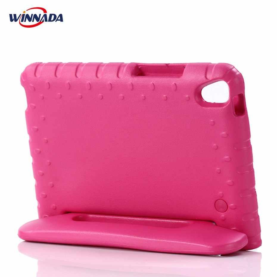 Funda Kides para Huawei MediaPad T3 de 8,0 pulgadas tablet de mano a prueba de golpes EVA soporte de mango de cuerpo completo para KOB-L09 cubierta de KOB-W09