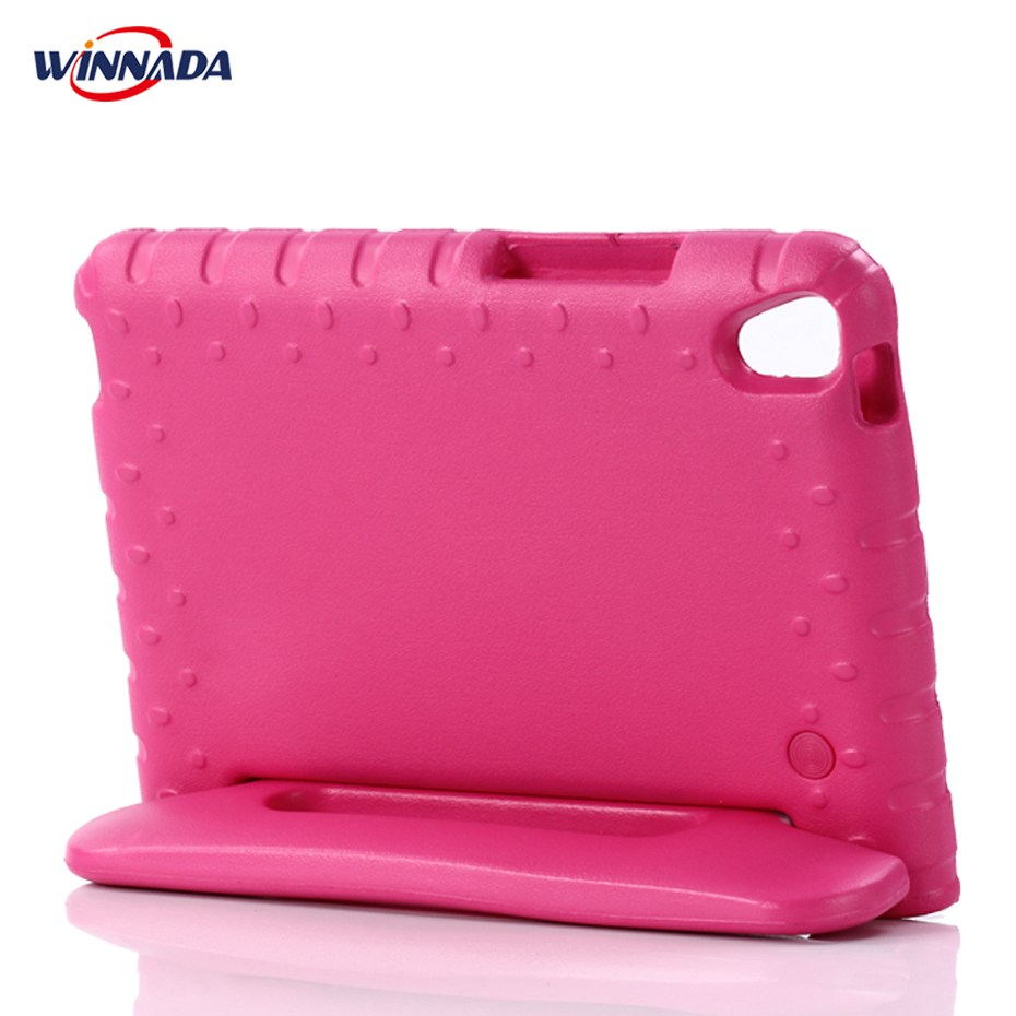 Kides case for Huawei MediaPad T3 8.0 inch tablet hand-held Shock Proof EVA full body Handle stand for KOB-L09 KOB-W09 cover lt 5t full metal full hard oxygen treatment combination shock absorber leakage proof 4 pcs