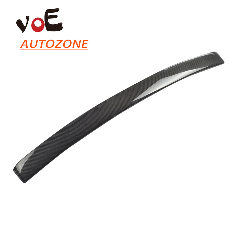 Carbon Fiber W207 AMG Auto Car Rear Wing Roof Spoiler, Rear Trunk Roof Spoiler for Mercedes-Benz W207 E200  E350 Coupe 2-Door hot car abs chrome carbon fiber rear door wing tail spoiler frame plate trim for honda civic 10th sedan 2016 2017 2018 1pcs