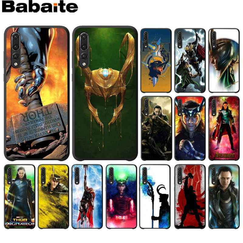 Babaite Marvel Hero Loki Luxury Unique Design Phone Cover for HuaweiP10 plus 20 pro P20 lite mate9 10 lite honor 10 view10 cover