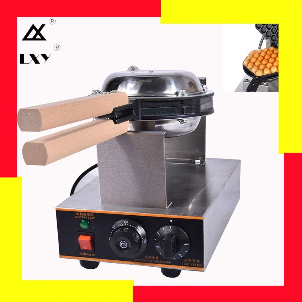 LXY-Bolha Elétrica Forno Bolo Chinês Hong Kong Eggettes Ovo Ovos de Sopro máquina de Waffle Máquina de Ferro 220 v/ 110v máquina de panqueca
