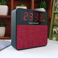 Magift Mini Klok Draadloze Speaker Audio Radio FM Ondersteuning Tf-kaart Multifunctionele Bluetooth Altavoz voor Werknemer Reiziger Student