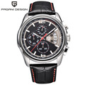 2016 Часы мужчины luxury brand Многофункциональный Pagani Дизайн кварцевые мужские спортивные наручные часы погружения 30 м случайные часы relógio masculino