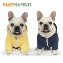 Spring Pet Clothes for Dogs Small Hooded Coat Puppy Chihuahua Outfit Hoodies French Bulldogs Sweater Jacket