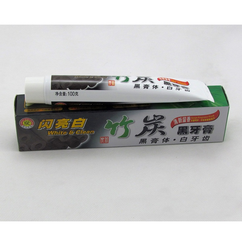 100  New Bamboo Toothpaste Charcoal All Purpose Teeth