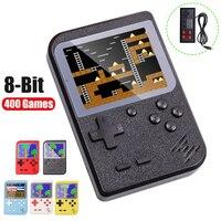 Игровая консоль для видео 8 бит ретро мини карманный портативный игровой плеер встроенный 400 классические игры лучший подарок для ребенка Н...