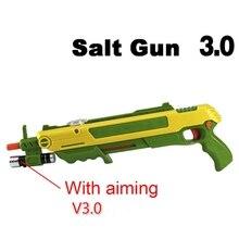 Соль летать пистолет ошибка соль пистолет перец пули Blaster страйкбола для ошибки удар пистолет Москит модель игрушки соль для мальчиков подарки весело играть в открытый