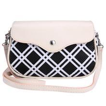 Hochwertige Mode Plaid Serie Crossbody Beutel beiläufige lederne handtaschen neue erfasst damen parteigeldbeutel Umhängetasche