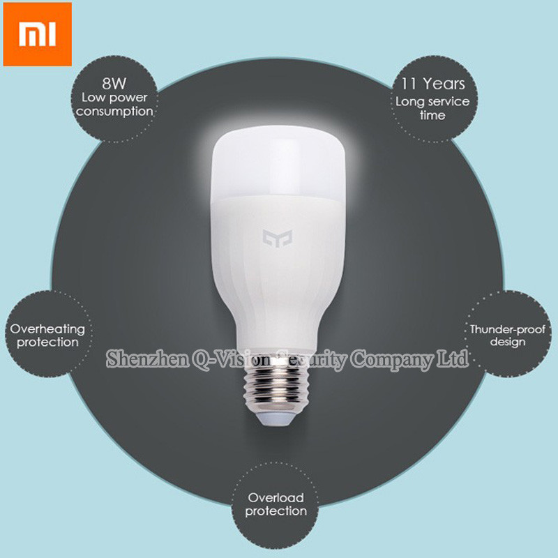Original-Xiaomi-Mi-Yeelight-LED-Bulb-WIFI-Remote-Control-by-Smartphone-White-Eyecare-Smart-Bulb-Adjustable