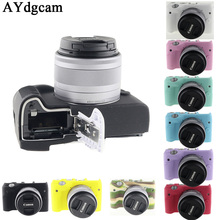 Good Digicam Video Bag For Canon EOSM3 EOS M3 Silicone Case Rubber Digicam case Protecting Physique Cowl Pores and skin