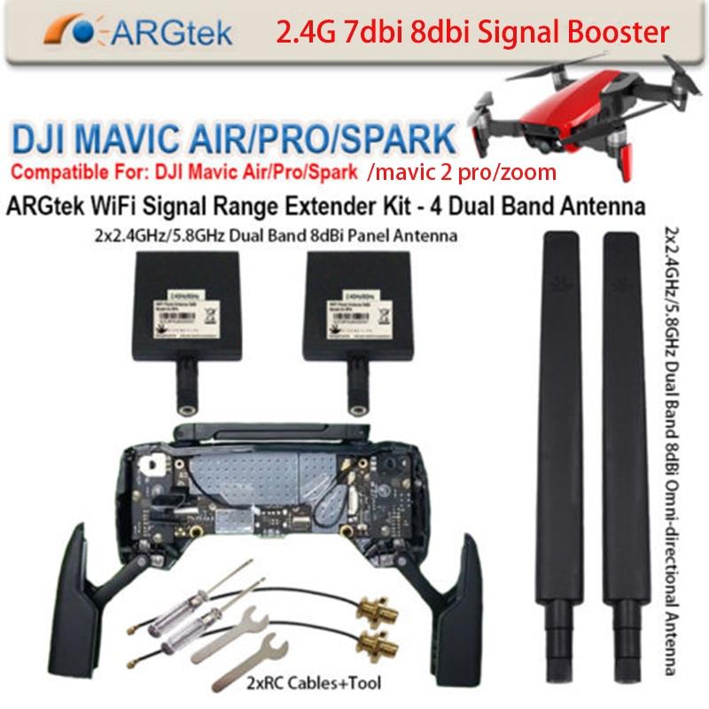 mavic 2 pro Refitting Antenna Signal Booster DJI Mavic Air 2 Pro Spark WiFi Signal Rang