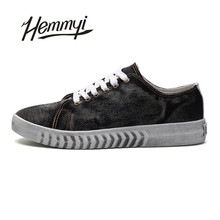 Hemmyi 2017 autumn new fashion mans canvas casual shoes solid color 4 lace-up ulzzang men shoe Superstar shoes size 39-44