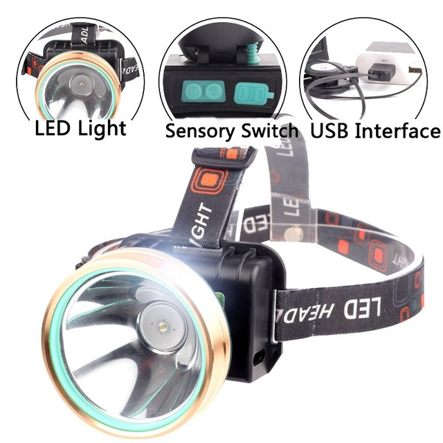 Outdoor lighting tool 50 500m intelligent induction led head light outdoor lighting tool 50 500m intelligent induction led head light usb rechargeable outdoor camping hiking mozeypictures Image collections