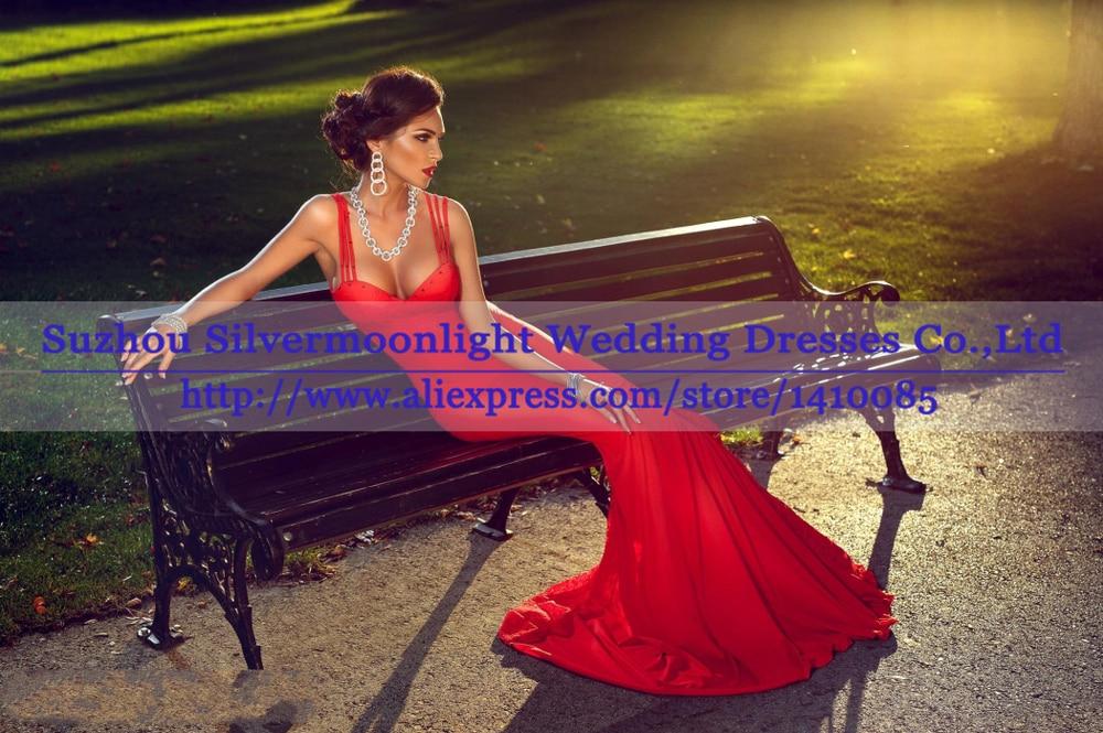 5950a5bcd15f abiti Da Noite 2015 Migliore Sexy vestiti Lunghi Da Promenade Elegante  Mermaid Abito Da Sera 2015 Donne Abiti Da Sera Lungo Da Sera Rosso vestito