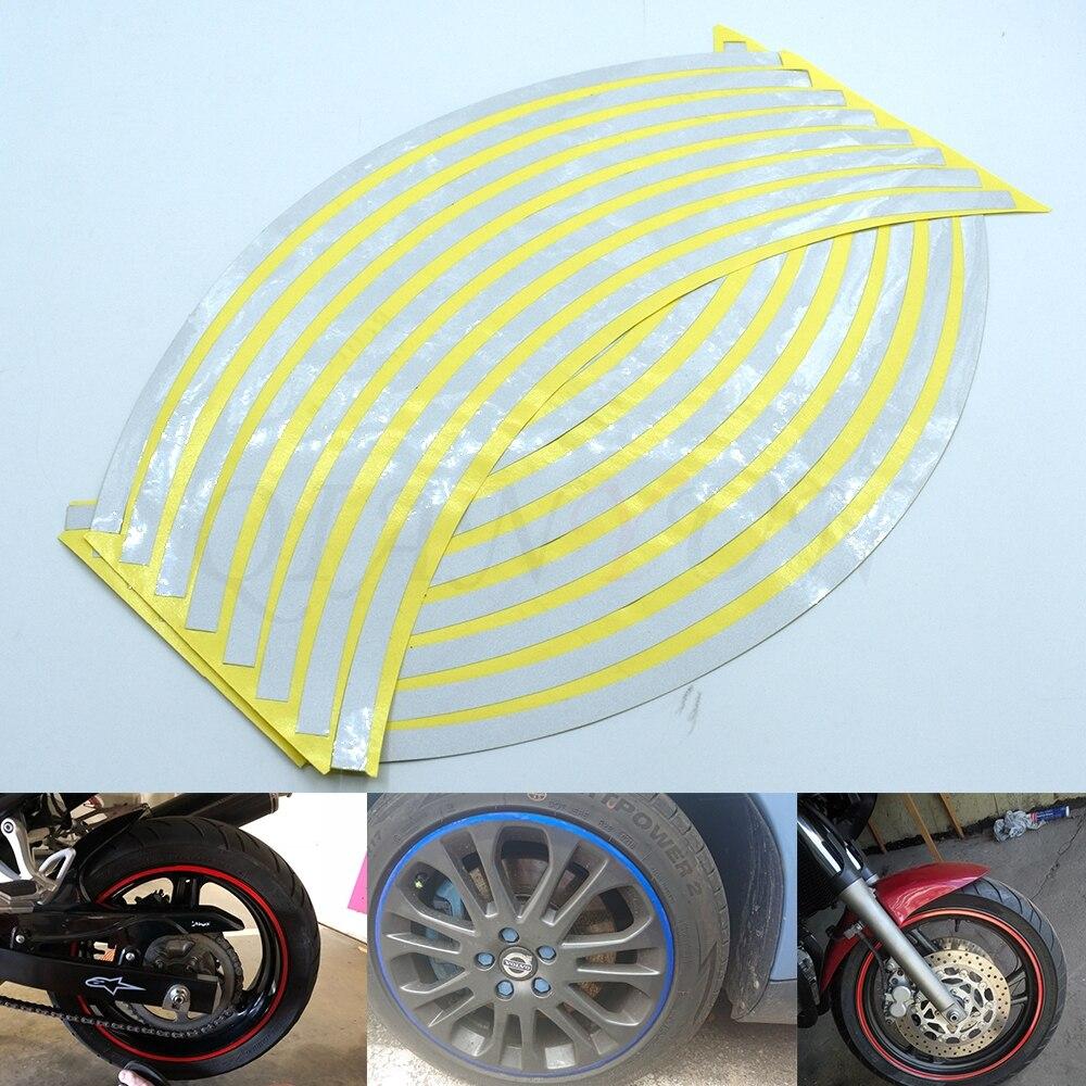 FOR KAWASAKI NINJA Z250 Motorcycle Helmet Fuel Tank Wheel Profile Decal Stickers