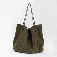 Solid Big Shopper Bag 2018 Large Casual Shoulder Bags for Women White Black Canvas Bag Beach Tote Big Bags Bolso Shopper Mujer