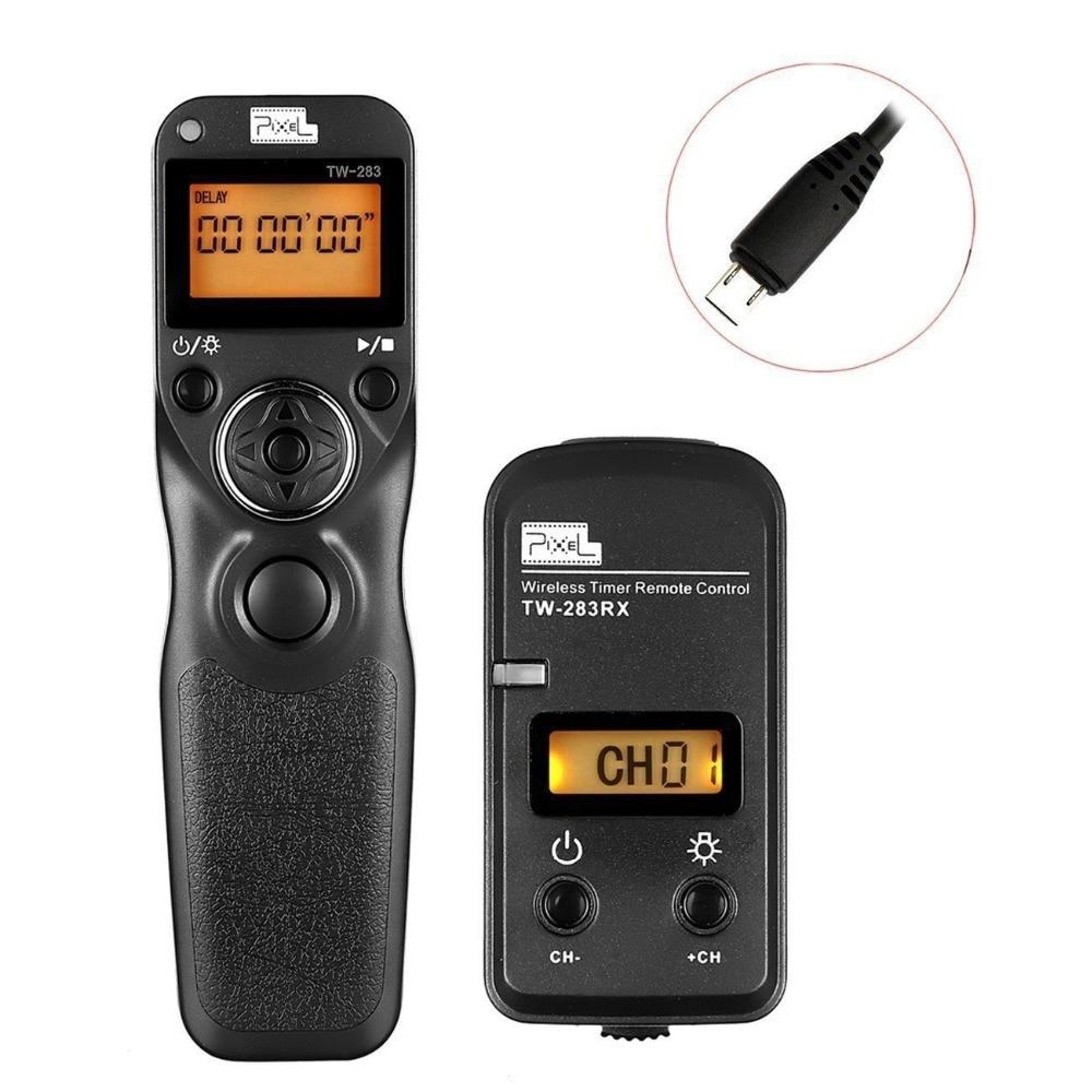 Pixel TW-283/S2 Wireless Trigger Remote Shutter Release Timer Control For Sony a7 a7II a7S a3000 a5000 a6000 a58 DSC-RX10 HX300