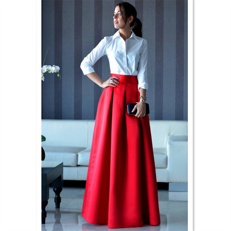 Popular High Waist Skirt Outfit-Buy Cheap High Waist Skirt Outfit ...