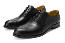 QYFCIOUFU 2019 Newest Genuine Leather Men Formal Shoes High Quality Brogue For Wedding Party Male Flat Luxury Men's Dress Shoes