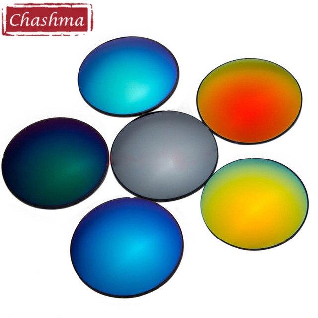 19ff829ead Chashma 1.61 Polarized UV 400 Protection Colorful Sun Lenses Prescription  Mirror Thin Myopia Sunglasses Lenses