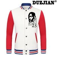 2016 Primavera nueva chaqueta informal bull Michael Jordan hombres baratos chaquetas de invierno abrigo masculino chaqueta de la universidad chaqueta de los muchachos hip hop