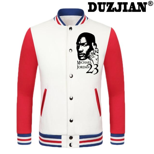 2016 Primavera nueva chaqueta informal bull Michael Jordan hombres baratos  chaquetas de invierno abrigo masculino chaqueta 79b701e7559