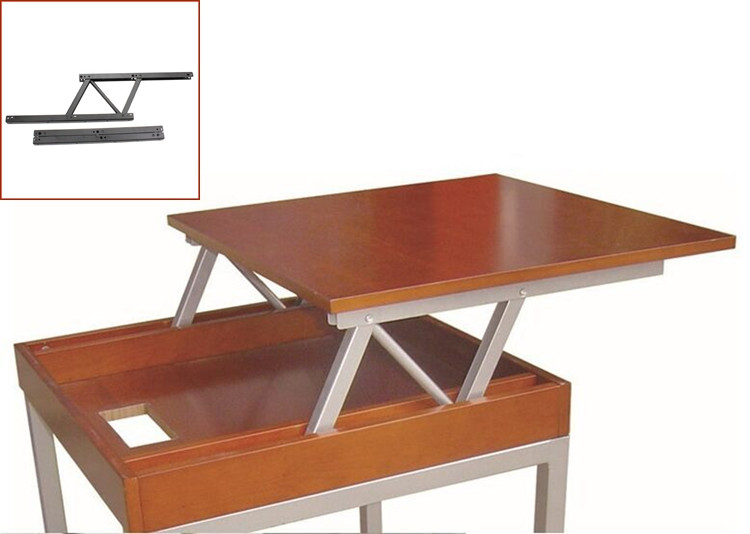 Pace Saving Furniture Mechanism Steel Metal Folding Table,lift Top Coffee  Table Hinges,standing Desk Riser Adjust Height LF 8005 In Cabinet Hinges  From Home ...