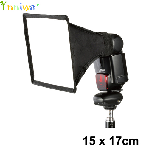 The high quality External flash softbox mini diffusers 15cm 17cm diffusers 15 17