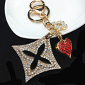 K2 Brand Famous Luxury Keychains Keyrings Feminino Llaveros Mujer Marcas Accessorie Porta Chaves Porte Clef Trinkets Portachiavi