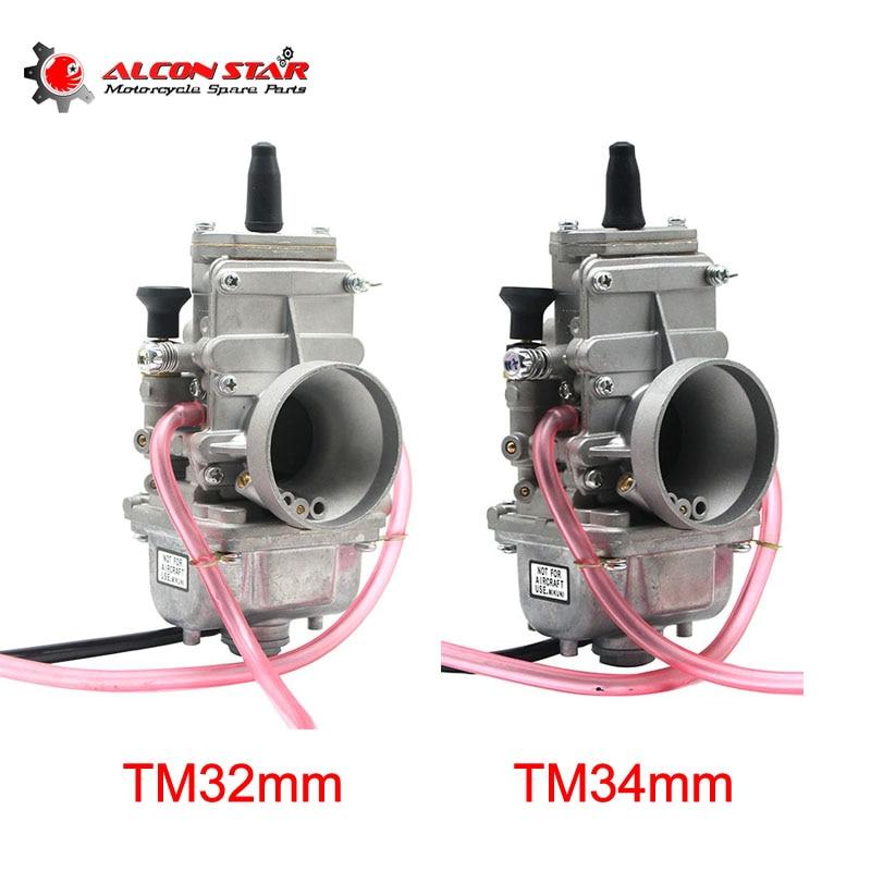 Alconstar 28 30 32 34mm Mikuni TM28mm TM30mm TM32mm TM34mm Motorcycle Carburetor Scooter 2T Engine ATV