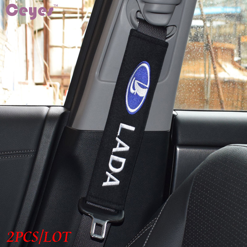 Ceyes Car Styling Car Accessories Case For Lada Kalina Priora Granta Samara 2110 Niva Stickers Car Styling Auto Protection Cover-in Car Stickers from Automobiles & Motorcycles
