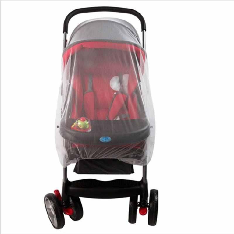 Cochecito de bebé de verano Universal mosquitero silla de paseo cochecito protector de insectos funda de cuna malla de seguridad textil para el hogar