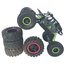 RC Car 4×4 Driving Rock Crawlers Off-Road Car Bigfoot Double Motors Drive Car 4CH 4WD Competitive Remote Control Car Model Toys
