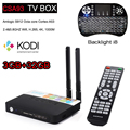 3GB 32GB CSA93 Amlogic S912 Octa Core Android 6.0 TV Box 2.4/5G WiFi H.265 4K 1000M Smart Meida Player add i8 Keyboard Backlight