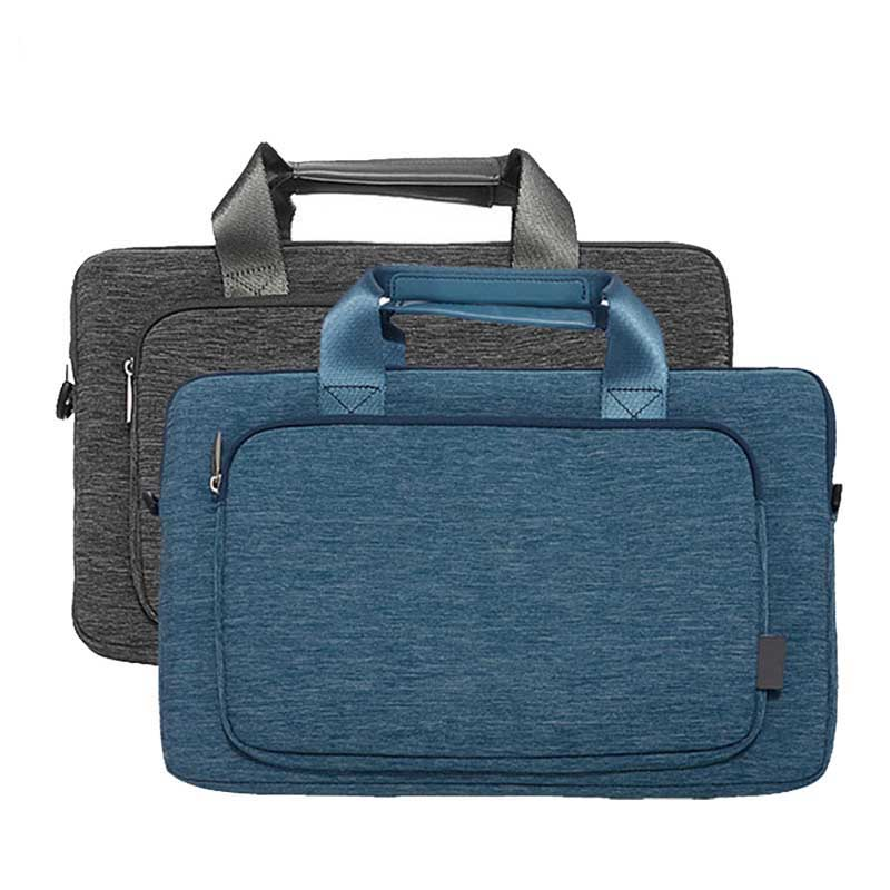 Laptop Messenger Bag Mens Waterproof Nylon Laptop Shoulder Bag Case Unisex Notebook Protector Handbag for Macbook Air Pro
