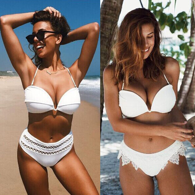 ITFABS Sexy Womens Bandage Push-up Bikini Set Summer Monokini Bikini Swimwear Beach Tankini Swimsuit Bathing Suit