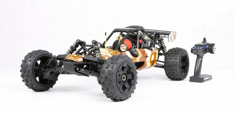 1/5 Scale Rovan 290A Gas, Petrol Buggy RTR 29cc Engine HPI Baja 5B SS King Compatible