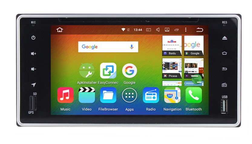 Flash Deal 6.2 Android 8.0 7.1 Car dvd player gps for Toyota Hilux Vios Camry Crown Corolla Prado RAV4 Yaris Octa Core 4GB RAM 32G ROM 0