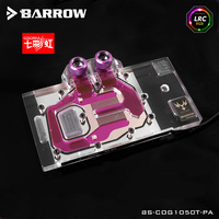Barrow RGB Full Cover Graphics Card Water Cooling Block BS COG1050T PA For COLORFUL Battle Ax