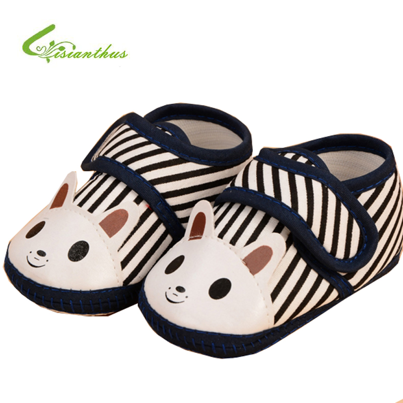 2017 Baby Shoes Breathable Cotton Shoes Newborn First Walker Shoes Infant Non Slip Bottom Shoes Comfortable Girls Baby Sneakers