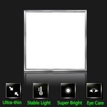 21 Вт светодиодный панельный светильник встраиваемый потолочный светильник 220 В светодиодный светильник s панельные лампы ультратонкие 300*300 для внутреннего освещения спальни домашний декор