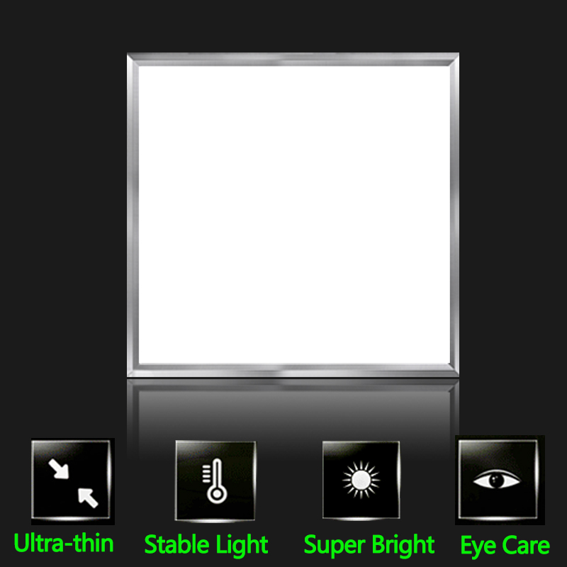 21W LED Panel Light Recessed Ceiling Lamp 220V Led Lights Panel Lamps Ultra-thin 300*300 For Indoor Lighting Bedroom Home Decor