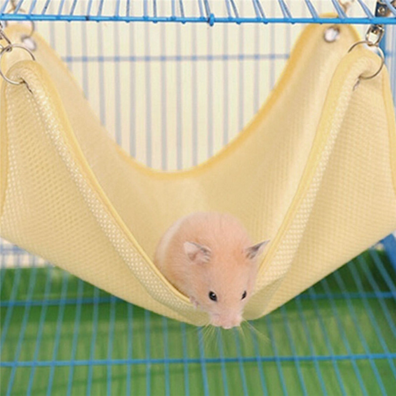 Pet Products 2019 Rat Rabbit Chinchilla/cat Cage Net Hammock Bed Small Pet Dog Puppy Hanging Mesh Bed Cover Bag Blankets Ic879352 Pure White And Translucent