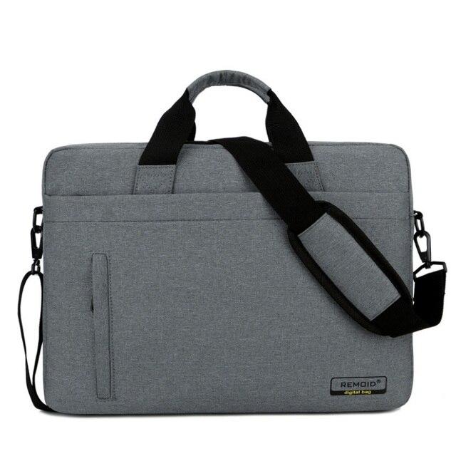 f13ae2581afe74 14 15 15.6 Inch Laptop Shoulder Messenger Bag Man Women Notebook Computer Sleeve  Bag Men Tablet Briefcase Case Handbag Retina