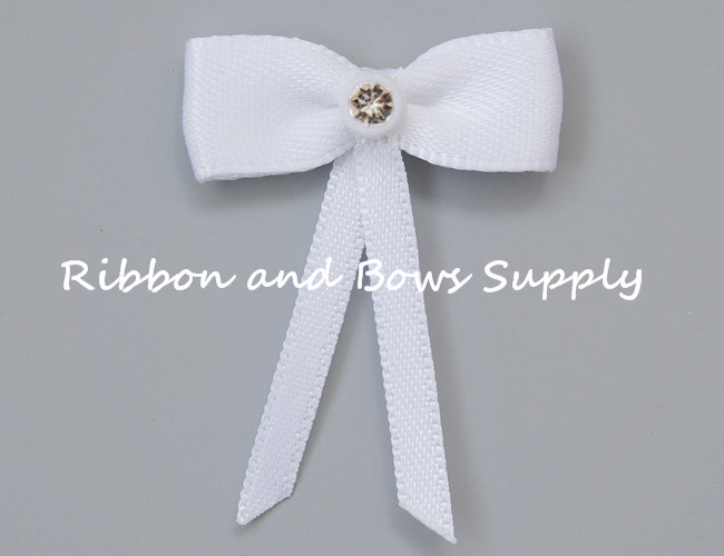 Custom Garment bows Underwear bow satin ribbon bow Decoration bows DIY Apparel Sewing Accessories 196 Colors Available