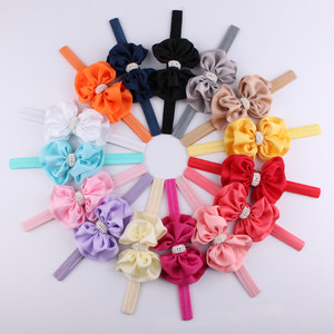 Girls Diamonds Headbands Bowknot Hair Accessories For Girls Infant Hair Band