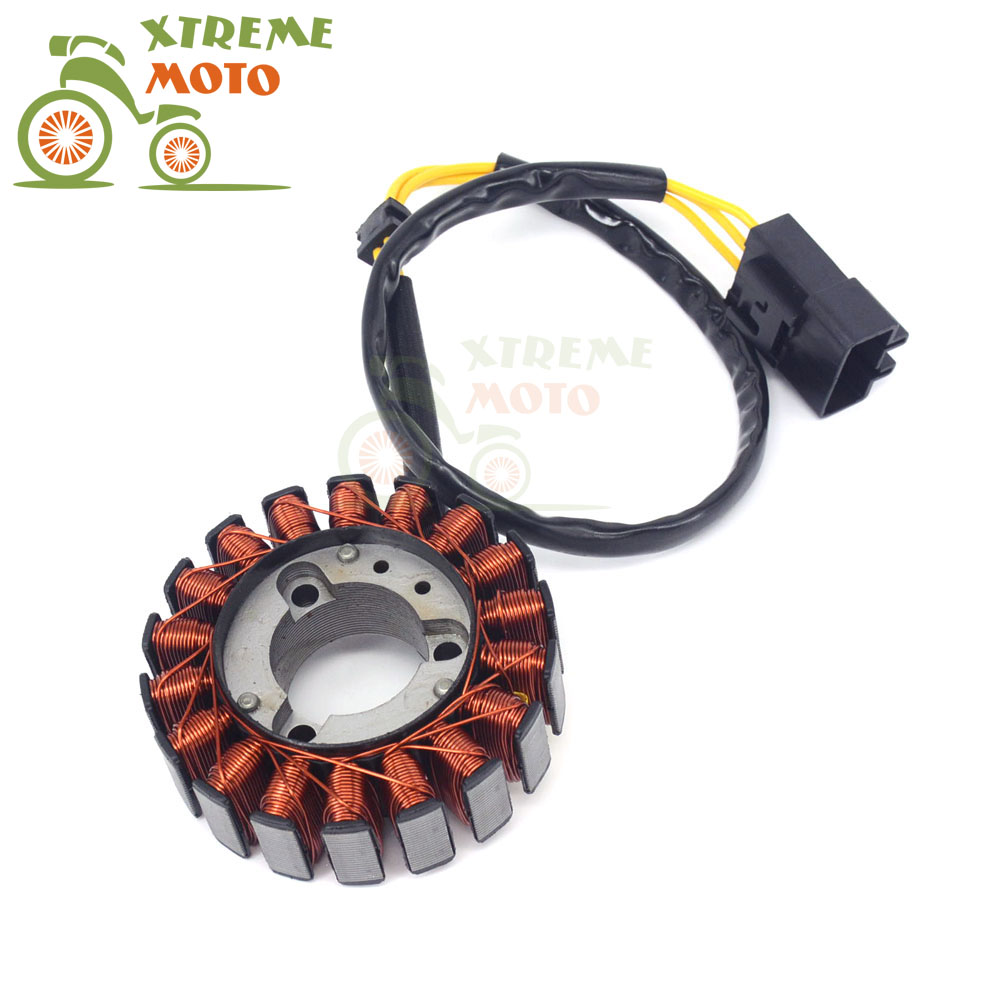 Motorcycle Generator Magneto Engine Stator Coil For HONDA SH125 SH150 SH 125 150 2005 2006 2007 2008 2009 2010 2011 2012 new stator coil for yamaha yfm550 yfm700 grizzly 2009 2014 10 11 12 13 generator