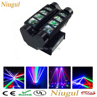 Eyourlife 4in1 New Moving Head Led Spider Light 8x10W RGBW Led Party Light DJ Lighting Equipment