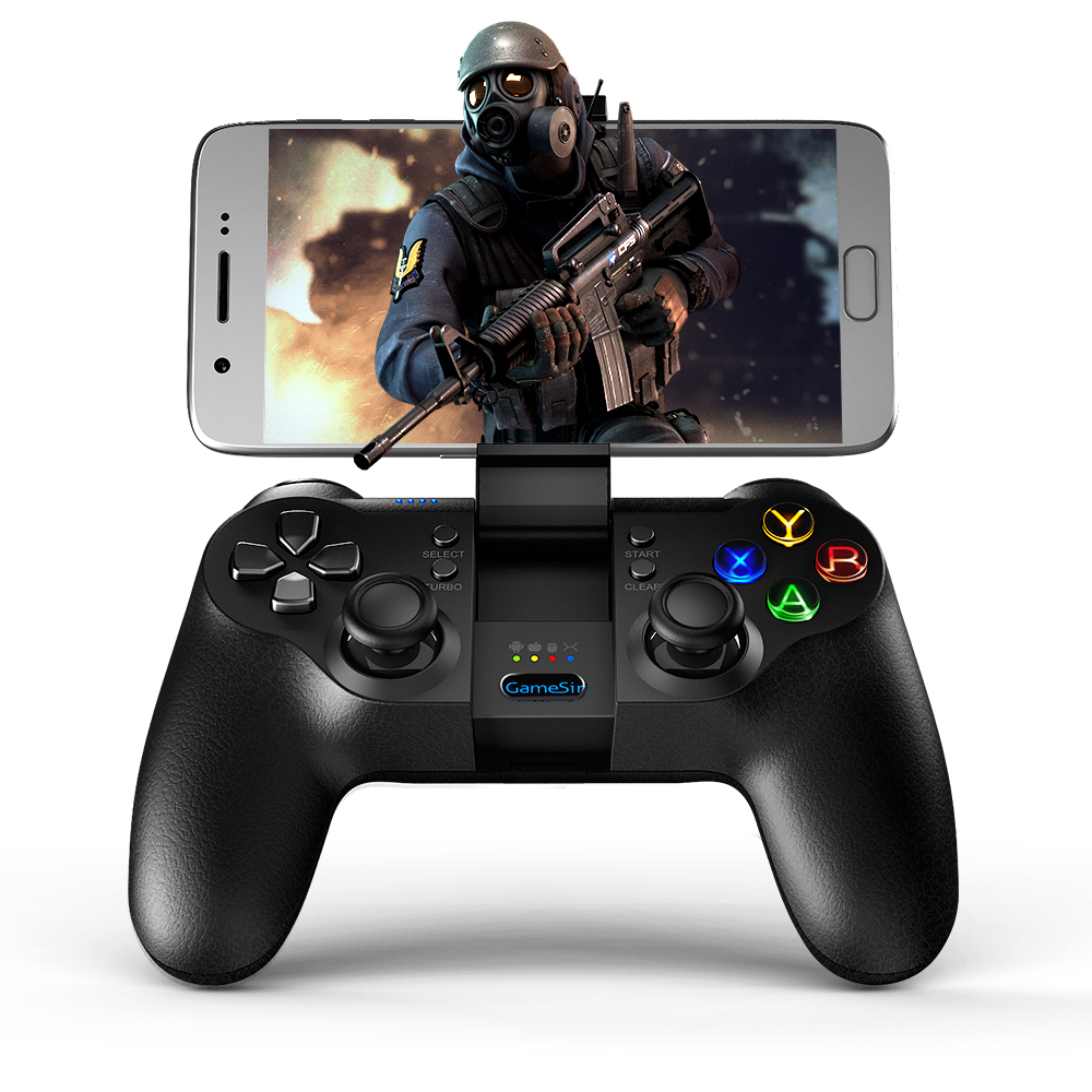 GameSir T1s Bluetooth Sans Fil Contrôleur de Jeu Gamepad pour Mobile Légende, Aov jeux, Remaping, android/Windows/VR/TV Box/PS3
